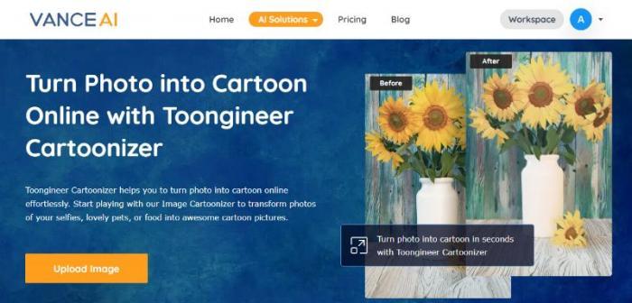 Cartoonizer Home Page