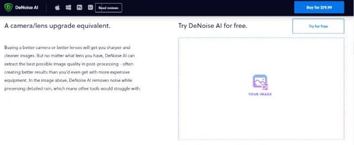 Topaz Denoise AI