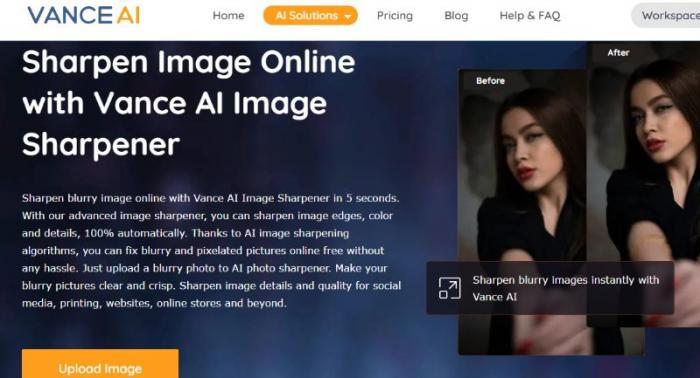 Vance AI Image Sharpener