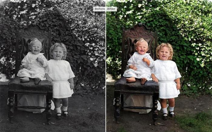 Historical Colorized Photos