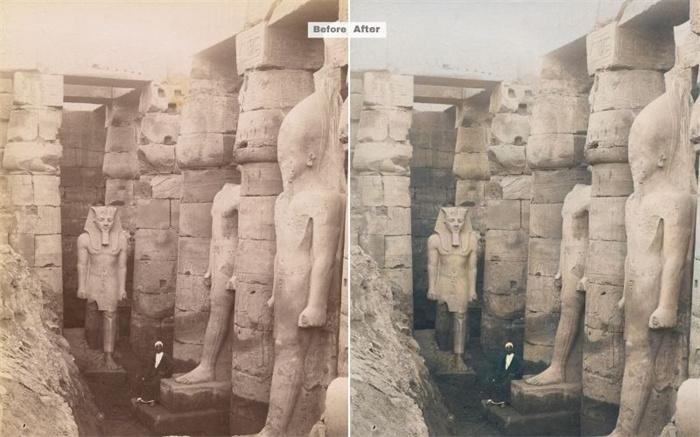 History Photo Colorized
