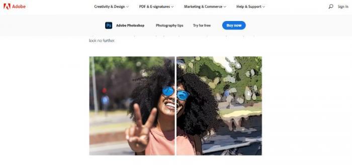 Photoshop Webpage