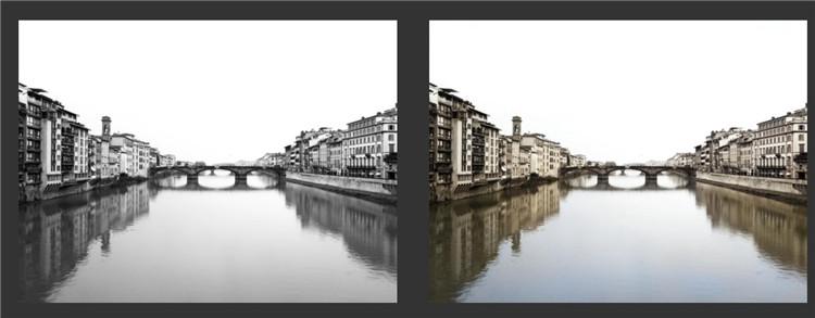 black-and-white-landscape-into-color